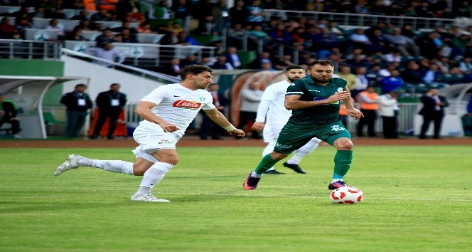 Giresunspor Play -off'u Garantiledi